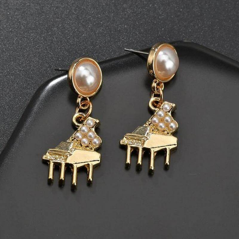 Piano earrings - Gifts for piano players
