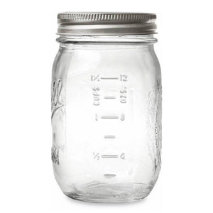 16 oz Pint Size Mason Jar