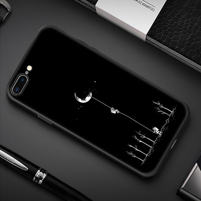 Crescent Moon iPhone Case