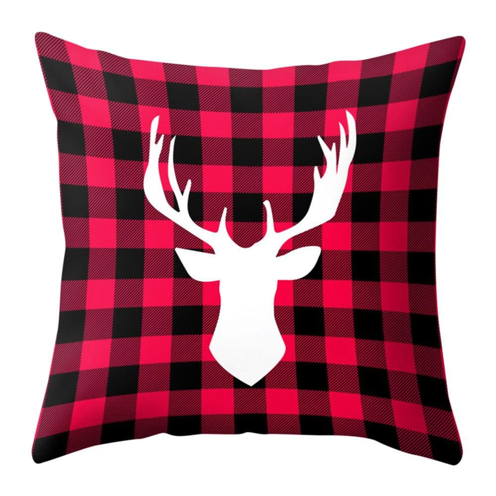Set of 4 Reindeer Pillow Cases - Mounteen.com