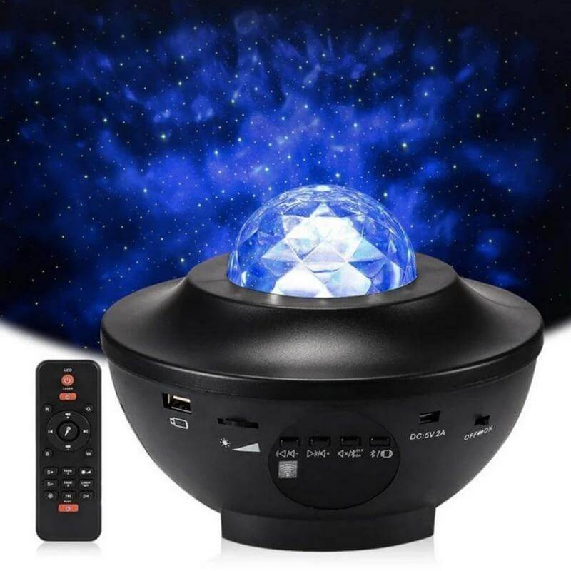 Star Projector with Bluetooth Speaker