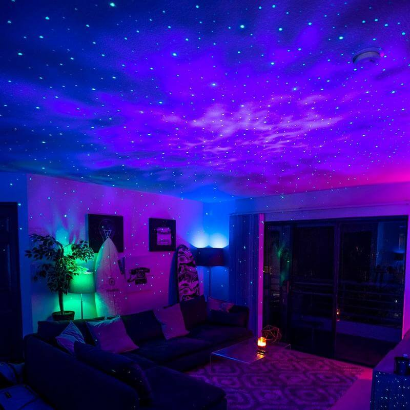 Star Projector with Wireless Speaker