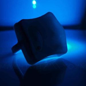Glow bowl toilet light