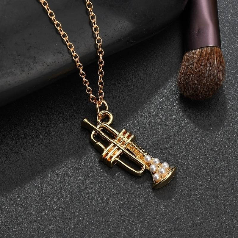 Trumpet necklace - Gifts for trumpet players
