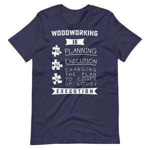 Gifts for woodworking dad - Woodworking T-shirt