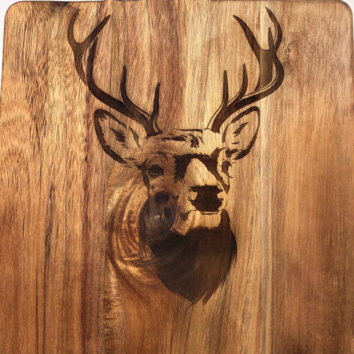 Stag head frontal - Younique Collective