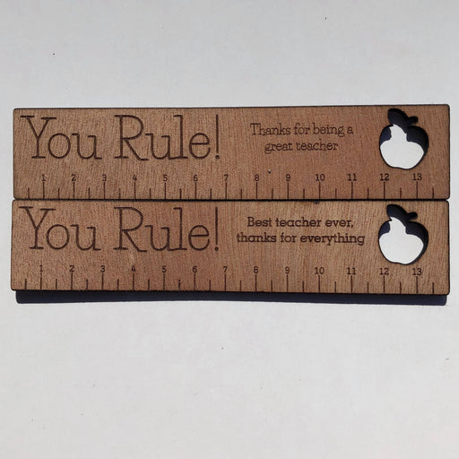 You Rule! Wooden ruler - Younique Collective