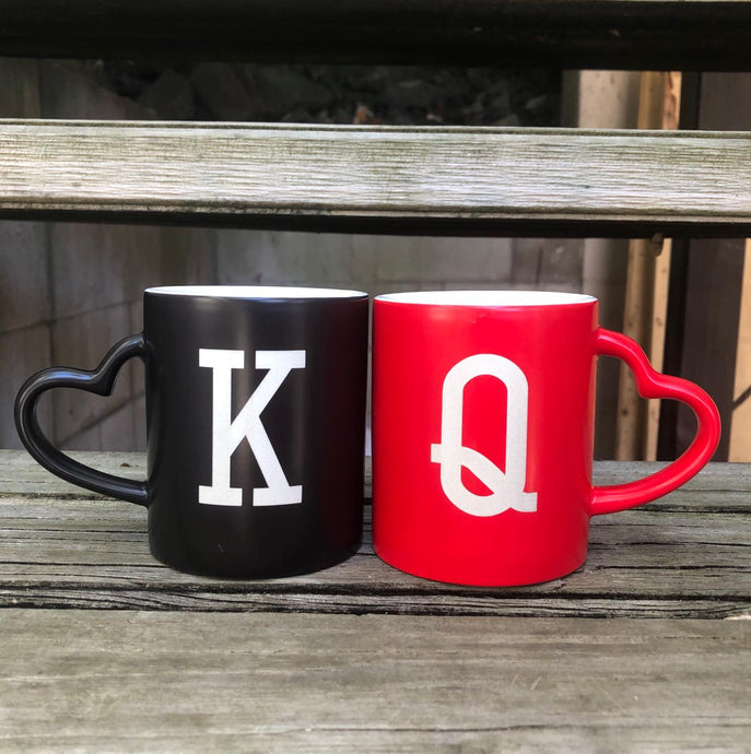 King & Queen mug set - younique-collective