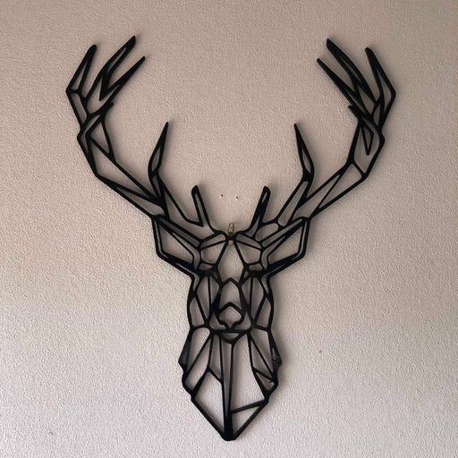 Geometric Stag head - Younique Collective