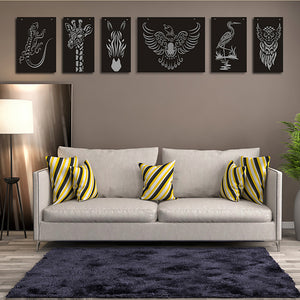 Animal cut out wall decor set - younique-collective