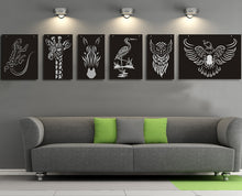 Load image into Gallery viewer, Wood Pigeon cut out wall decor - Younique Collective