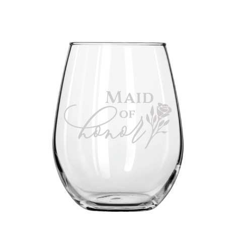 Maid of Honour wine glass - Younique Collective