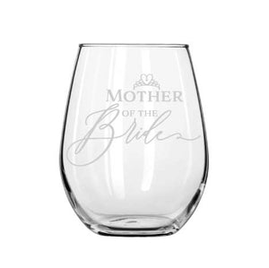 Mother of the Bride wine glass - Younique Collective