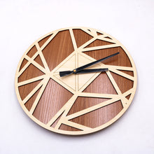 Load image into Gallery viewer, Geometic Clock - younique-collective
