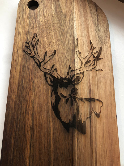 Stag head side on - Younique Collective