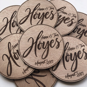 Coaster Favours - Younique Collective