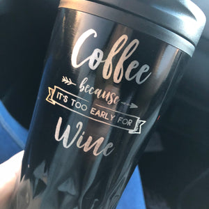 Coffee, because it's too early for wine - Younique Collective