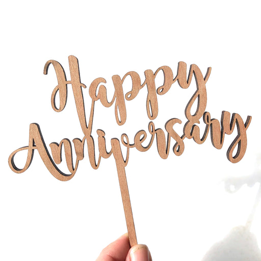 Happy Anniversary topper - Younique Collective
