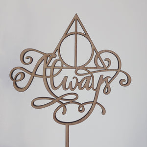 Always - Harry Potter themed topper - Younique Collective