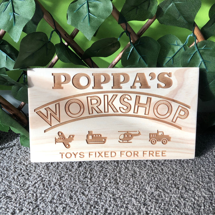 Poppa's Workshop