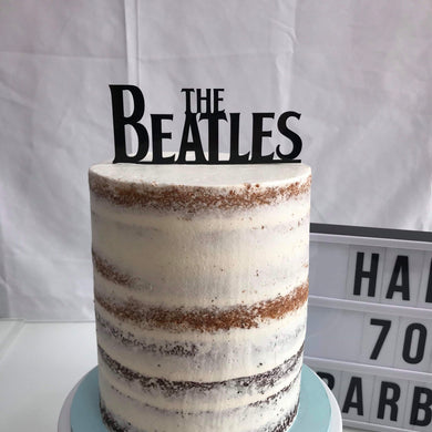 The Beatles cake topper - Younique Collective