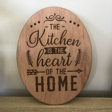 Load image into Gallery viewer, The kitchen is the Heart of the home