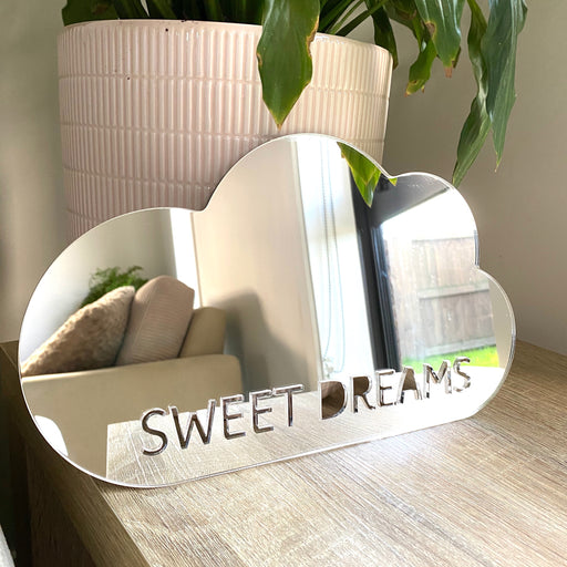 Sweet dreams cloud mirror decor - Younique Collective