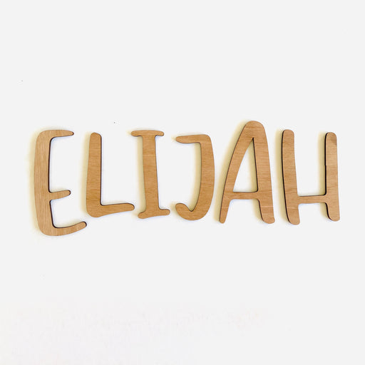 Wooden name plaque - Younique Collective