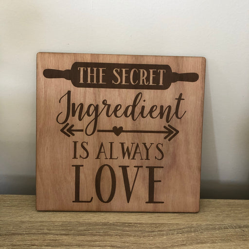 The Secret Ingredient is always Love - Younique Collective