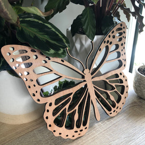Butterfly mirror decor