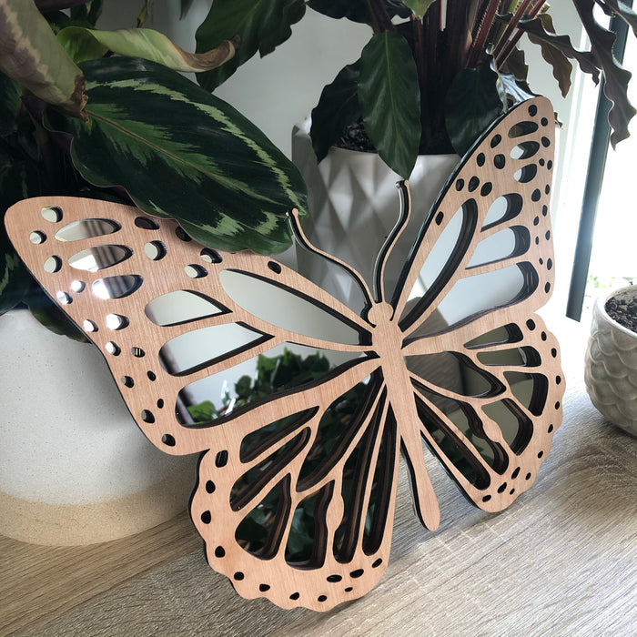 Butterfly mirror decor - Younique Collective