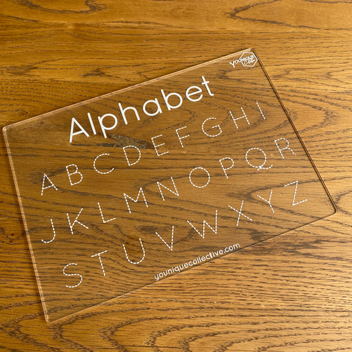 Alphabet capitals trace and learn - Younique Collective