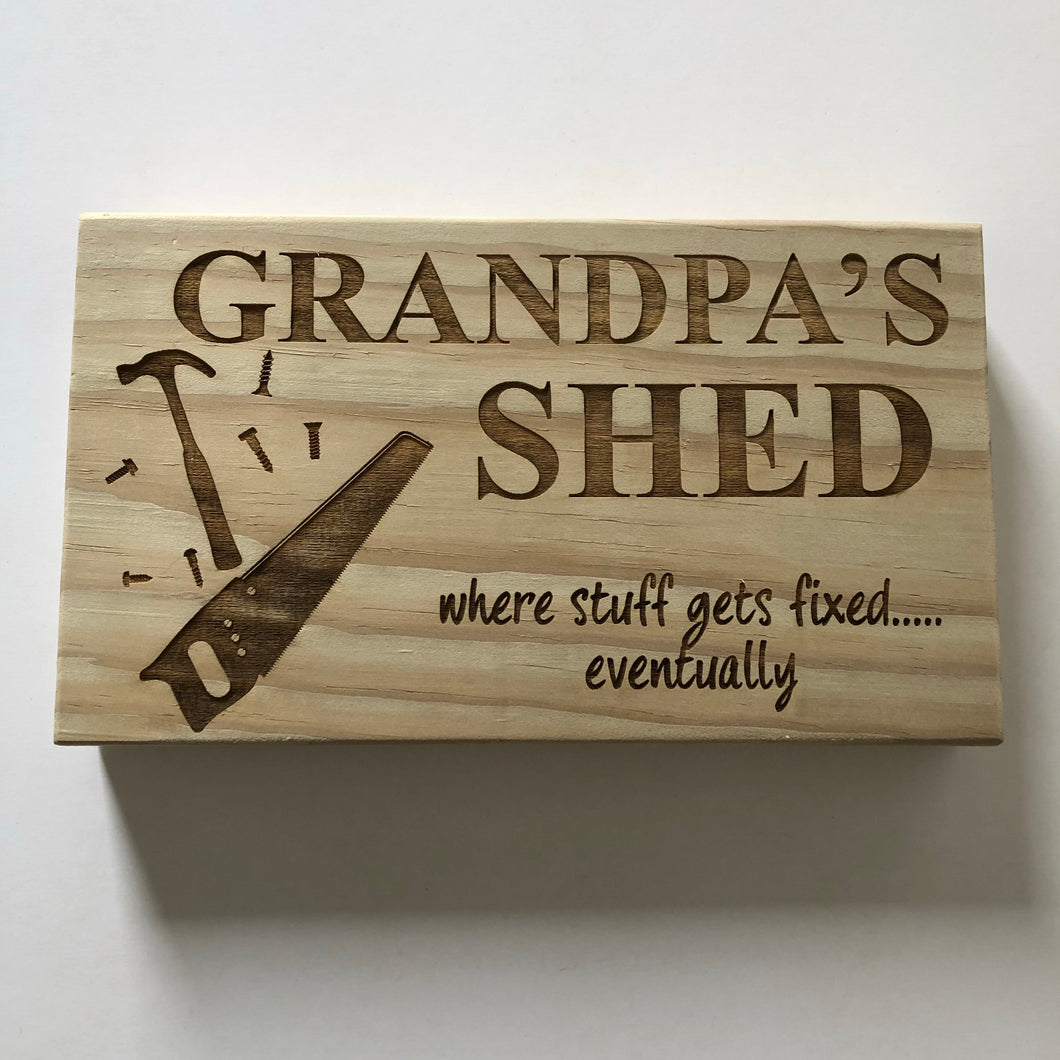 Grandpa's Shed - Younique Collective