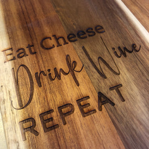 Eat cheese, drink wine, repeat - Younique Collective