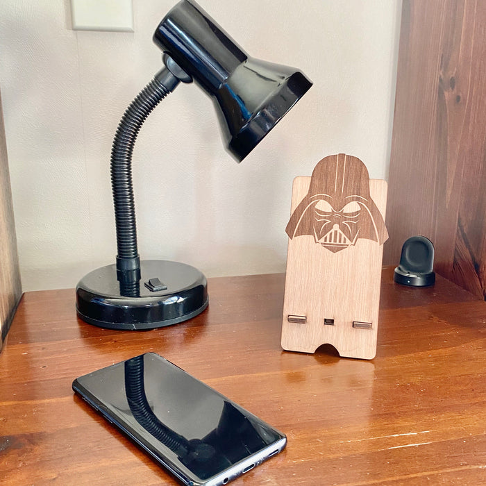 Storm trooper phone stand