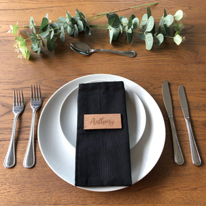 Wooden Place Settings