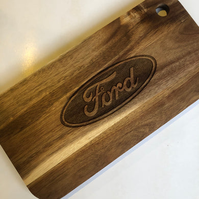 Ford logo board - Younique Collective