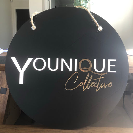 Acrylic Business signage - Younique Collective