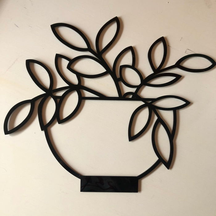 Philodendron wall decor - Younique Collective