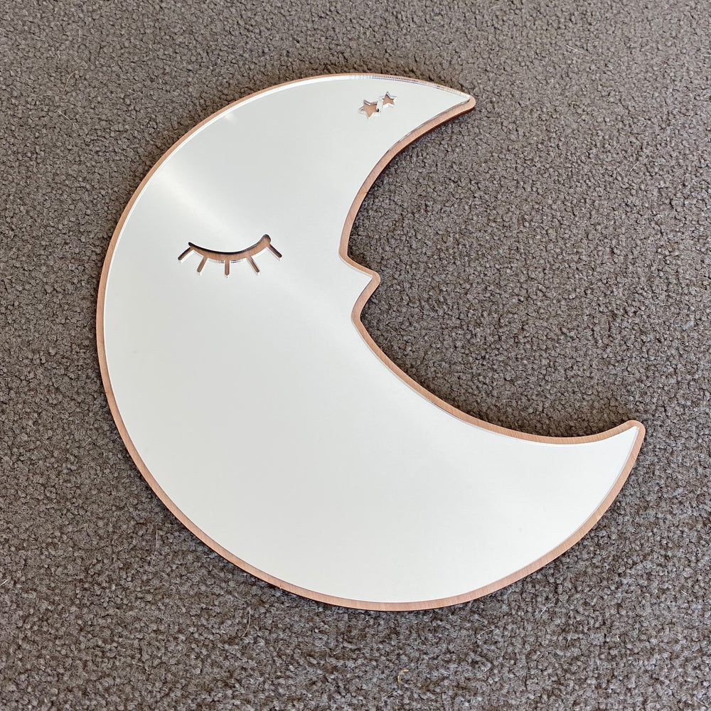 Sleepy moon mirror decor - Younique Collective