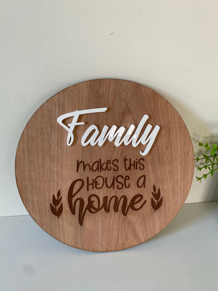 Family makes this house a home - Younique Collective
