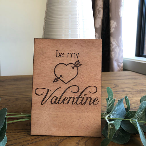 Be my Valentine card - Younique Collective