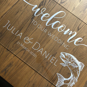 Welcome Sign A1 Customised - Younique Collective
