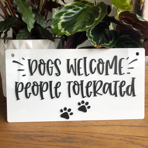 Dogs Welcome - Younique Collective