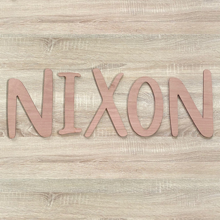 Wooden name plaque - XL