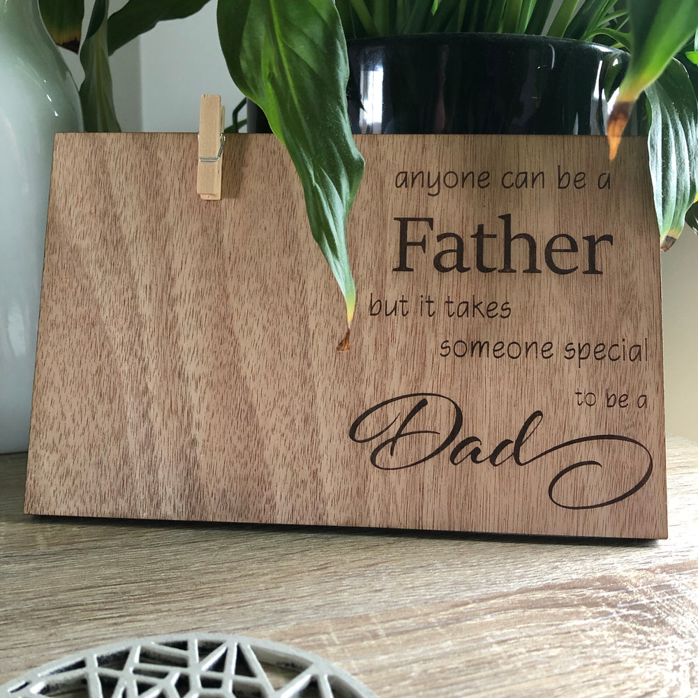 Dad picture frame - Younique Collective