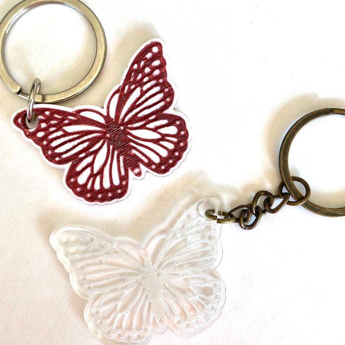 Butterfly keyring - Younique Collective