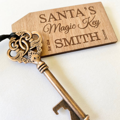 Santa's magic key personalised