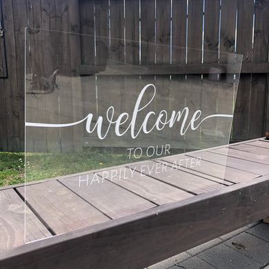 Welcome Sign A2 - Younique Collective