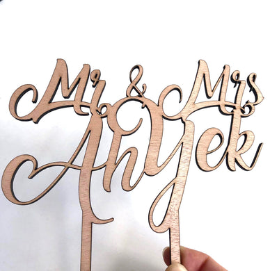 Custom cake toppers - Younique Collective